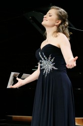 Kateryna Kasper - The MIRJAM HELIN International Singing Competition 2014. Photo: Heikki Tuuli