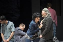 "L. Navok ""An unserem Fluss"" (Oper Frankfurt, 2015 - Foto: Monika Rittershaus)"